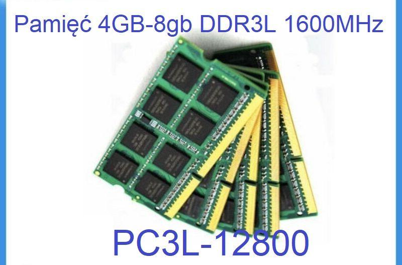 Pamięć 4-8gb DDR3 do laptopów - super oferta Wytrzyszczki - image 1