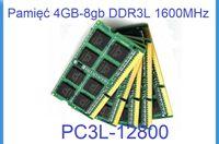 Pamięć 4-8gb DDR3 do laptopów - super oferta