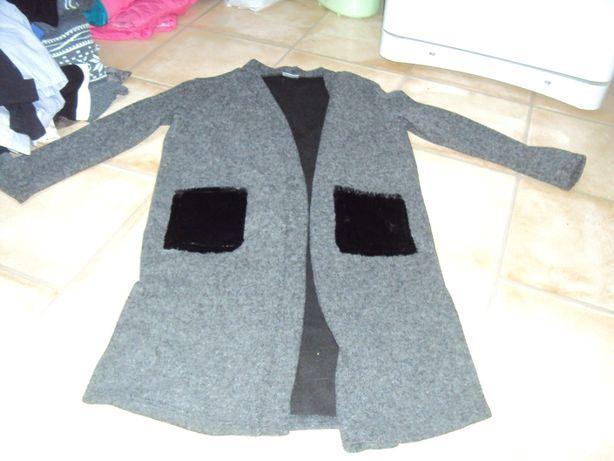 Narzutka długi sweter marynarka m/l/xl 38/40/43