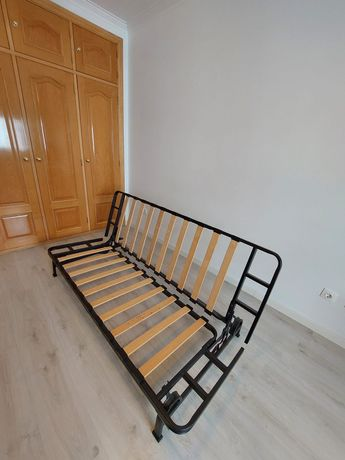 Sofa cama cor cinzento optimo estado