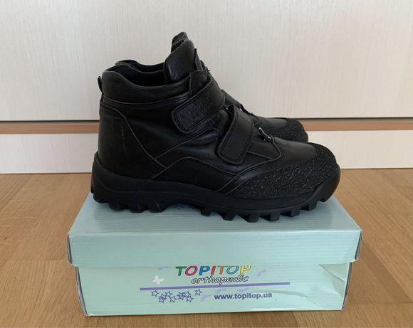 Ботинки осенние кожаные TOPITOP 2308 р.38 (24 см) Турция