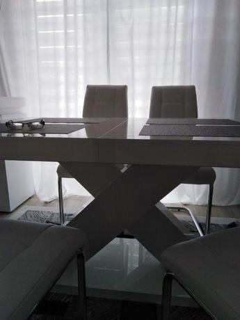 Stół Xenon ll plus 4 krzesła ekoskóra