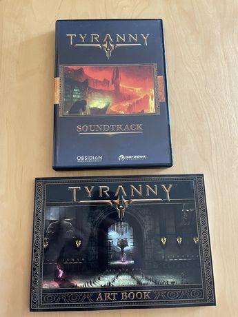 Tyranny artbook i soundtrack