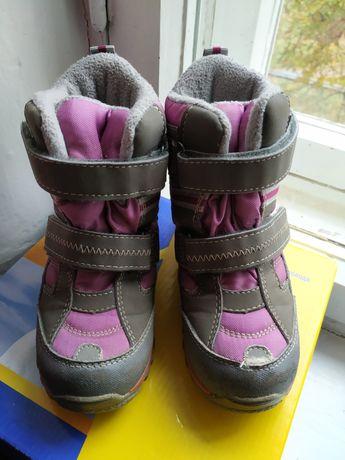 Сапоги полусапожки ботинки зимние термо на девочку р.27