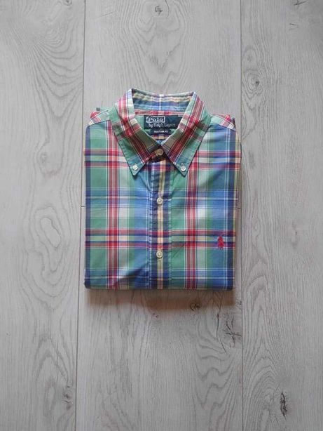 koszula męska  marki Ralph Lauren roz. S bawełna custom fit