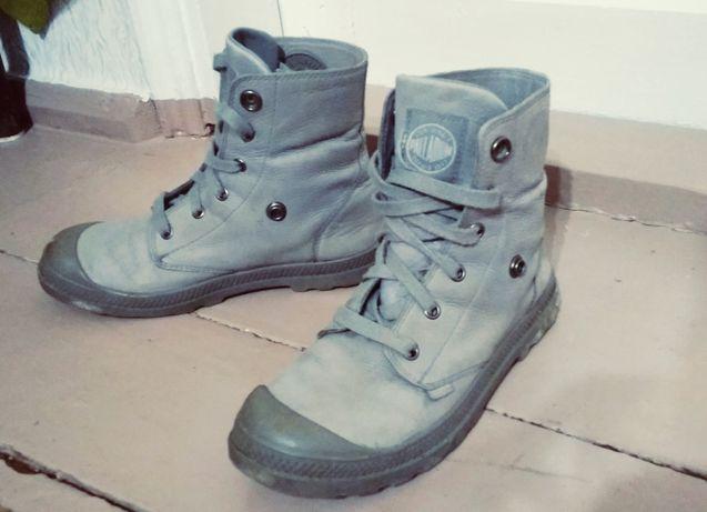 Ботинки кожаные на шнуровке 38 р