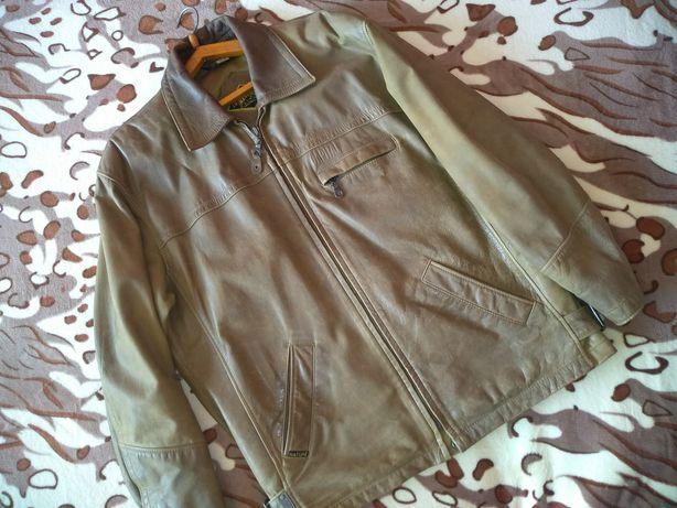 Мужская куртка , натуральная кожа ,на весну осень