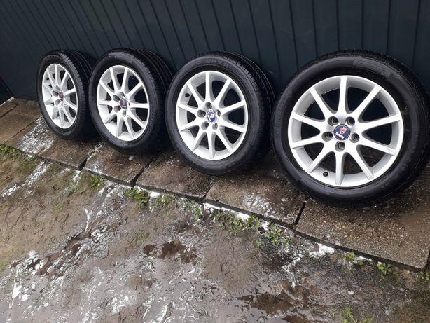 Felgi Aluminiowe Saab 5x110 R16 65,1mm + opony Letnie