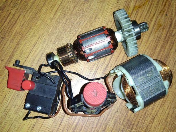 Электродвигатель в сборе для шуруповерта Forte DS 450-2 VR 450Вт