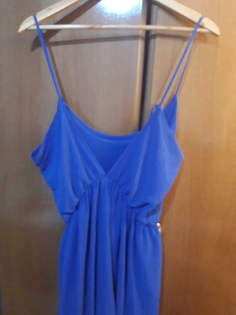 Vestido azulão de verão