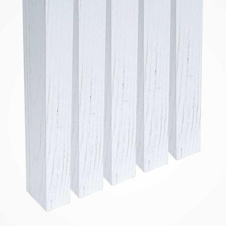 Lamele ścienne listwy pionowe dąb ANDERSEN biały premium