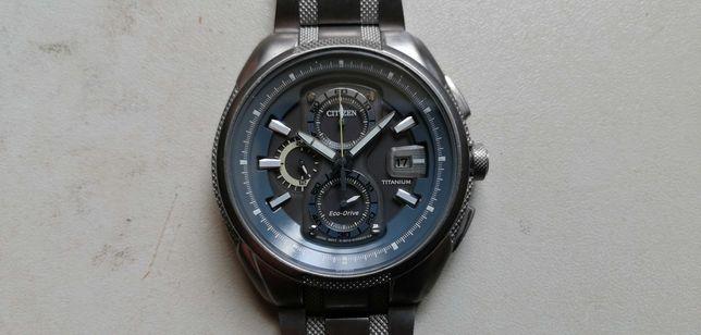 citizen - tytan - eco drive - chrono - zegarek