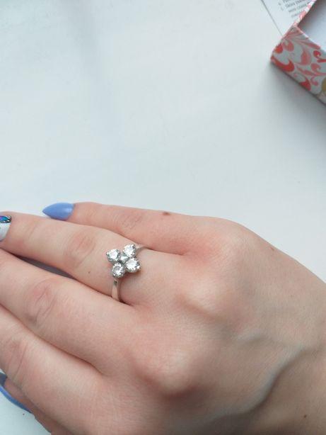 Sprzedam pierścionek srebrny roz 14