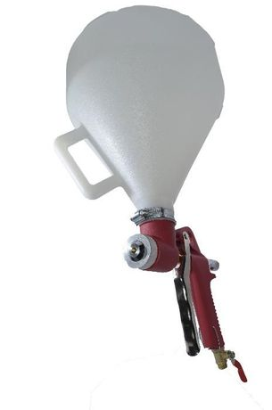 H-TOOLS 80K402 Штукатурный распылитель, 4-8 мм, в/б пластик 700 мл, 3-
