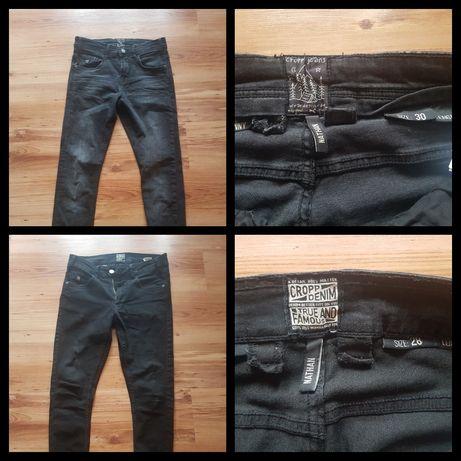 Zestaw ubran cropp roz s/m spodnie 28/30 28/32