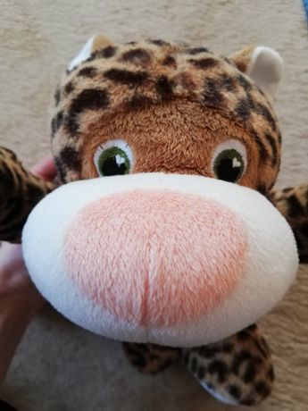 Игрушка леопард мягкая