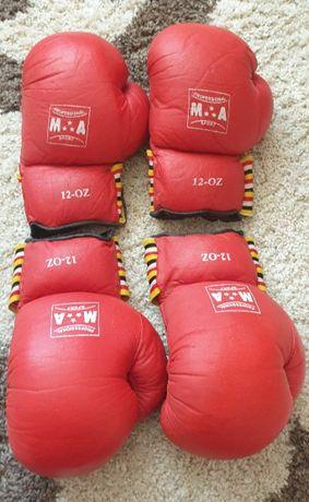 Боксерские перчатки 12 oz = 2 ПАРЫ