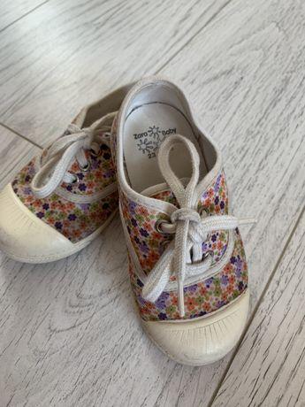Zara,  кеды-тапочки, макасины р23 для девочки