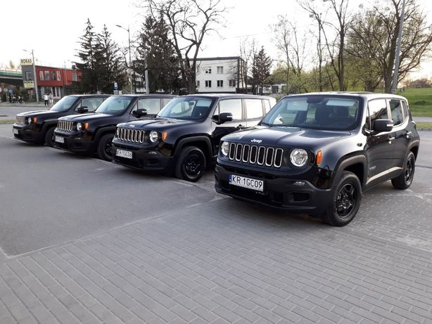 Wynajem Aut JEEP RENEGADE ben+gaz Wypożyczalnia Samochodów od 120