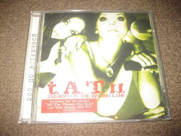 "CD das T.A.T.U. ""200 km/h in the Wrong Lane"" Portes Grátis!"
