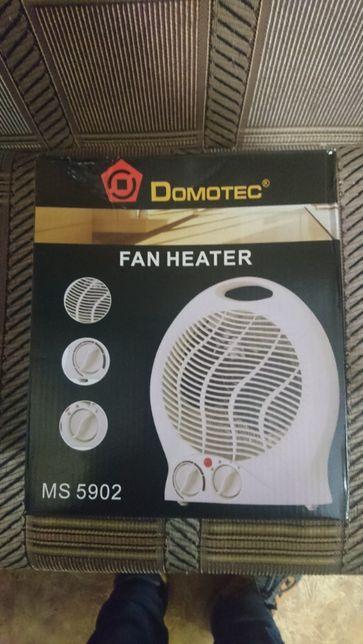 Обігрівач тепловентилятор 2000 Вт Domotec