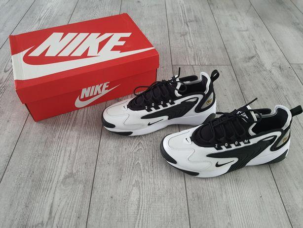 Nike zoom 2k czarne białe rozmiar 42