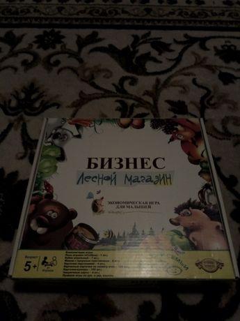 """Настольная игра бизнес """" Лесной Магазин"""""""