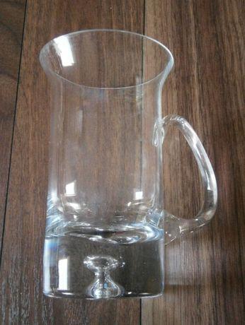 Szklanka z grubym dnem wysoka duża 400 ml. kubek