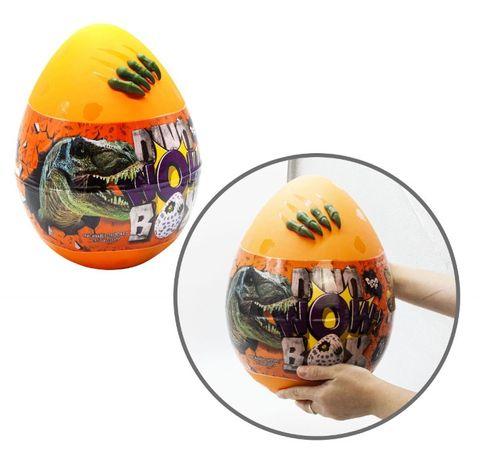 Игрушка Яйцо сюрприз для мальчика большое Динозавр WOW DINO BOX