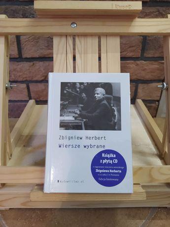 Wiersze wybrane z płytą CD. Zbigniew Herbert (NOWA, ZAFOLIOWANA)