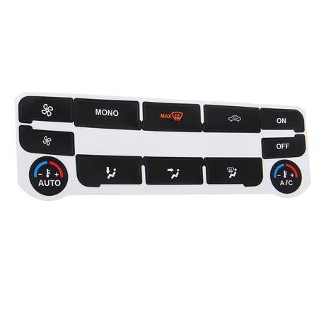 Kit de reparação dos botões do climatizador AC FORD S MAX em vinil