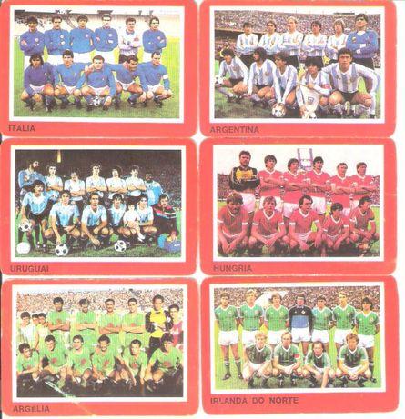 """Calendários #26 """"Equipas Mundial 1986"""""""