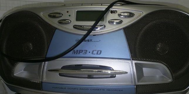 Radio typu jamnik First Radio cd kaseta