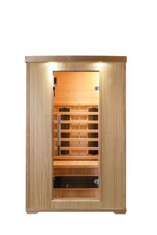 Sauna infrared Roma prom. kwarcowe lub ceramiczne 2os sauny fińska spa