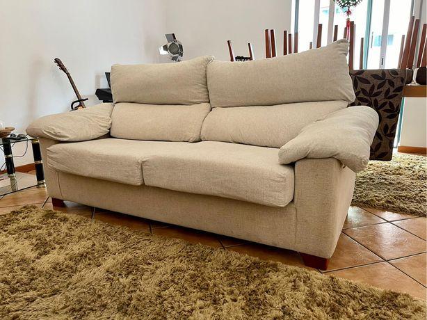 Sofa cama estrado em ferro confortavel