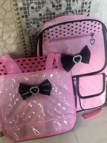 Стильный модный рюкзак для девочки-младшеклассницы (1-4 класс).2875грн