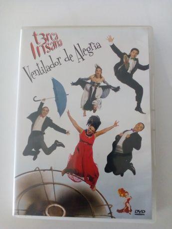 DVD - Terça Insana - Ventilador De Alegria - Semi Novo - PORTES GRÁTIS