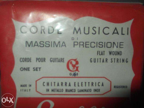 Cordas para guitarra eléctrica