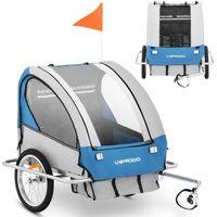 Przyczepka rowerowa transportowa wodoodporna dla DZIECI do 40 kg