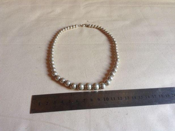 Серебряные бусы Tiffany & Co.