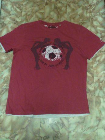 21. Bawełniana markowa koszulka męska rozmiar M John Richmond