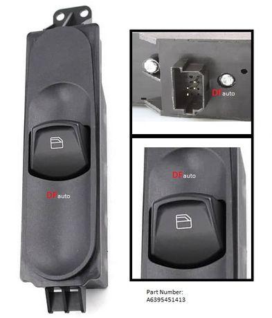 Botao interruptor vidros da porta Passageiro VW Crafter MERCEDES Vito