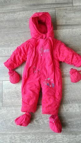 Kombinezon zimowy 80 18 miesięcy dziewczynka