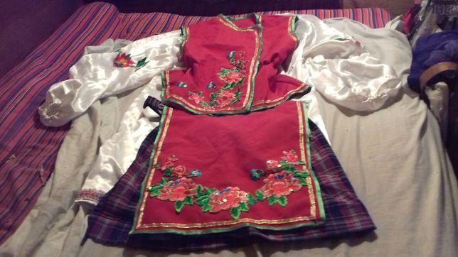 Украинский народный костюм 145 см