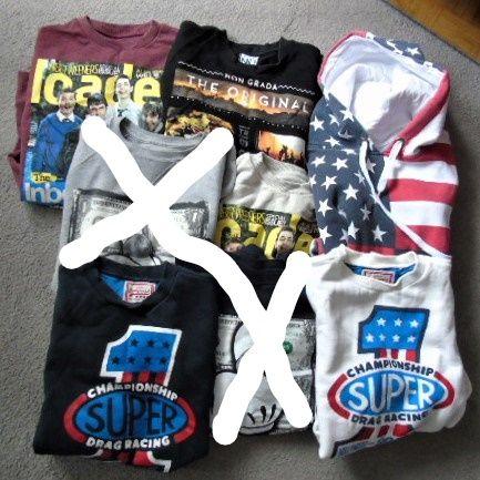 6 szt.bluz młodzieżowych