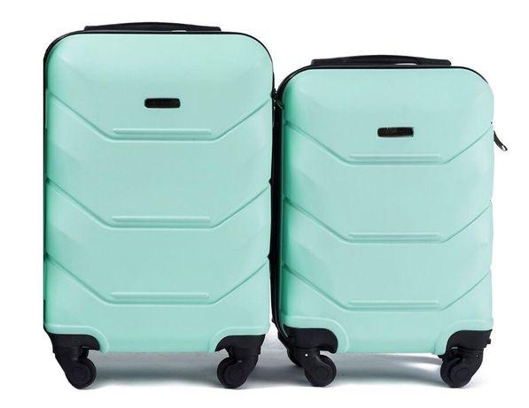 АКЦИЯ! УСПЕЙ! чемодан валіза на колёсах сумка дорожная 147 Мятна