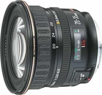 lente grande angular Canon EF20-35mm f/3.5-4.5 USM