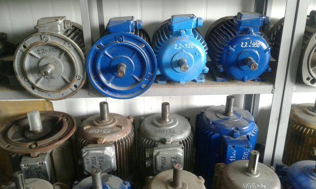 Електродвигун 1.5, 2.2, 3, 4 кВт электродвигатель электромотор