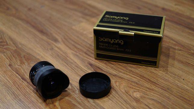 Obiektyw Samyang 8mm f3.5 Aspherical Fish-eye CS do Canon