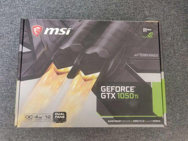 Видеокарта MSI 1050 Ti 4GB